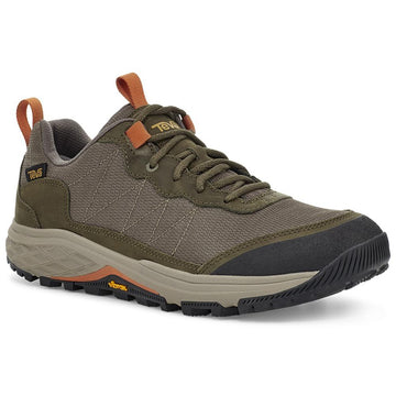 Quarter view Men's Teva Footwear style name Ridgeview Low Rp in color Dark Olive. Sku: 1116627DOL