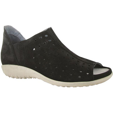 Women's Noat Hikoi in Black Velvet Nubuck sku: 11168-B12