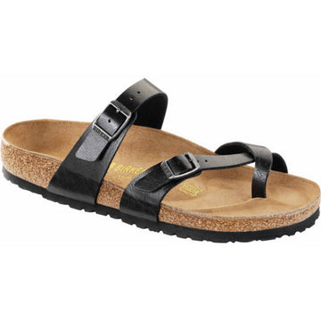 Birkenstock Mayari Birko Flor Basic Footbed Licorice