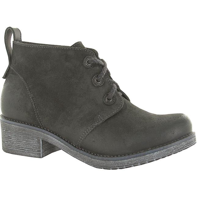 Women's Naot Love in Oily Midnight Suede/ Black Raven Leather sku: 17604-NIA