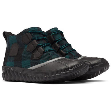 Women's Sorel Out N About Plus Plaid in Black  sku: 1929931-010