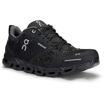 Men's On Running Cloudflyer Waterproof in Black/ Lunar sku: 21-99624