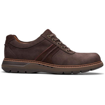 Men's Clarks Un Ramble Go in Brown Nubuck sku: 26144147