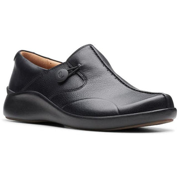 Women's Clarks Un Loop 2 Walk in Black Tumble  sku: 26147157