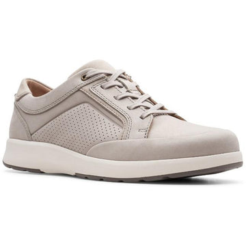 Men's Clarks Un Trail Form in Stone Nubuck sku: 26148550