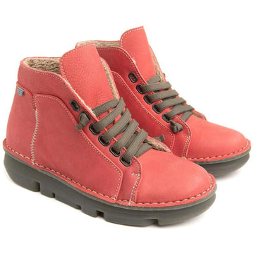 Women's On Foot Touch Zen Boot in Rojo sku: 29001-ROJO