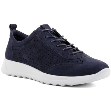 Women's ECCO Flexure Runner Perf Sneaker in Night Sky