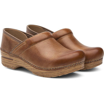 Women's Dansko Professional in Honey Distressed sku: 306-581464
