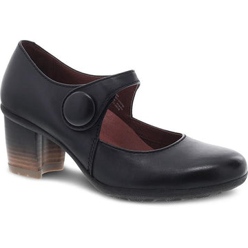 Women's Dansko Page in Black Waterproof Burnished sku: 3330-470200