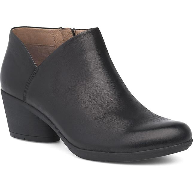 Dansko Raina Black Burnished Nubuck
