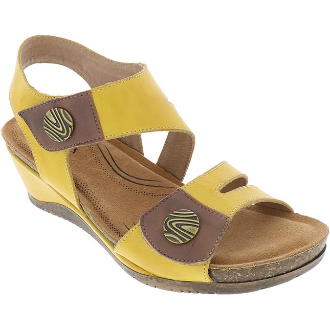 Women's Biza Maddison in Yellow-Brandy sku: 4005-729
