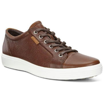 Men's ECCO Soft 7 Sneaker in Whiskey sku: 430004-01283