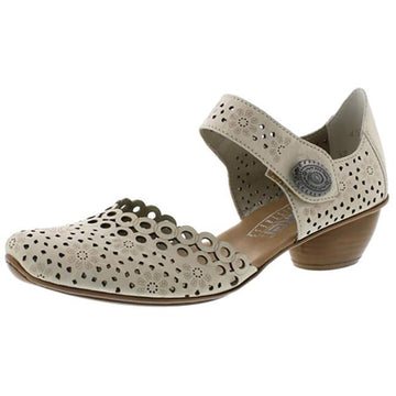 Women's Rieker Mirjam 53 in Crema Massa sku: 43753-60