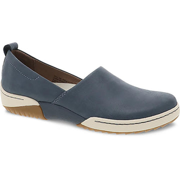 Quarter view Women's Dansko Footwear style name Reba in color Denim Vintage. Sku: 4429-720300