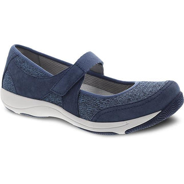 Womens Dansko Hennie In Blue Suede