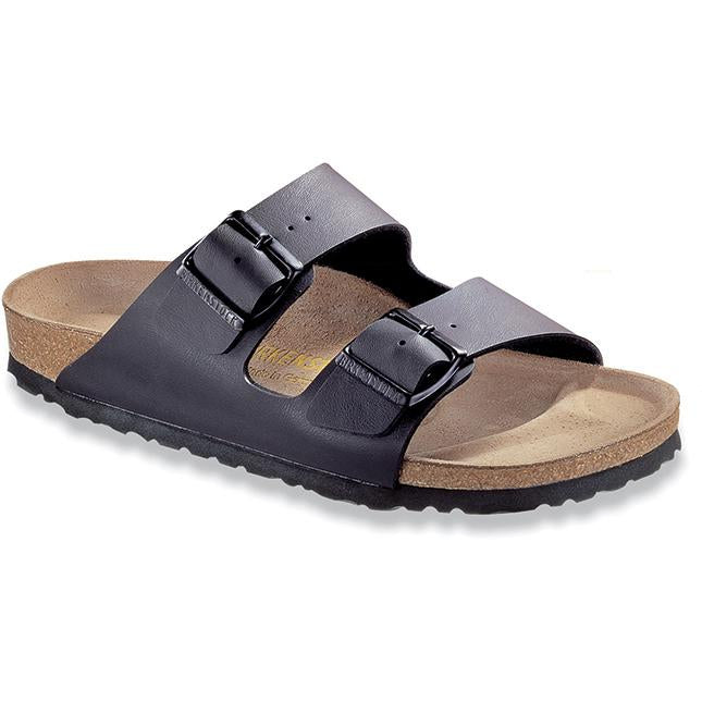 Women's Birkenstock Arizona Birko Flor Narrow in Black
