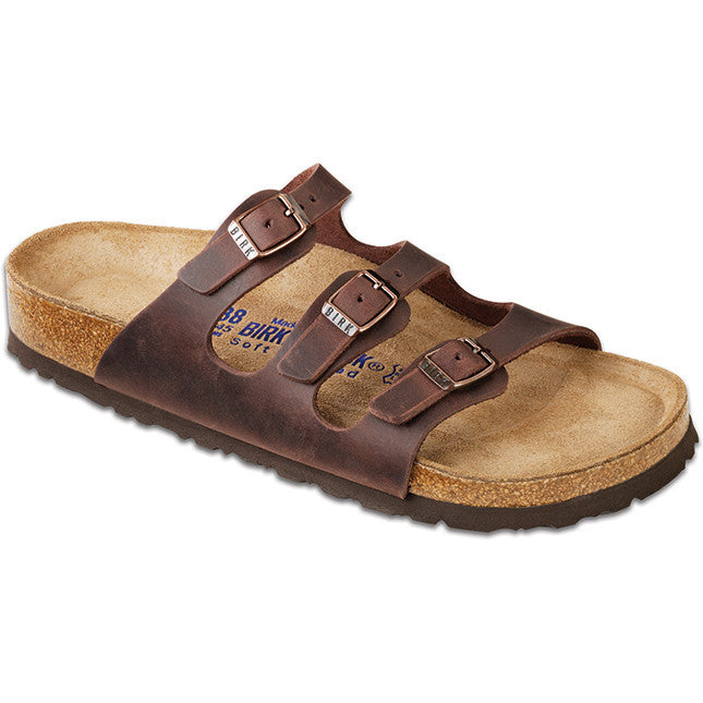 Birkenstock Florida Soft Footbed Regular Habana Oil