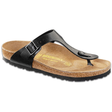 Birkenstock Gizeh Birko Flor Basic Footbed Licorice