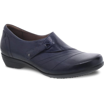 Women's Dansko Franny in Navy Burnished Calf sku: 5500-550200