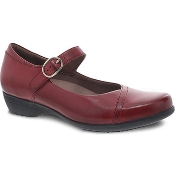 Women's Dansko Fawna in Red Burnished Calf sku: 5501-220200