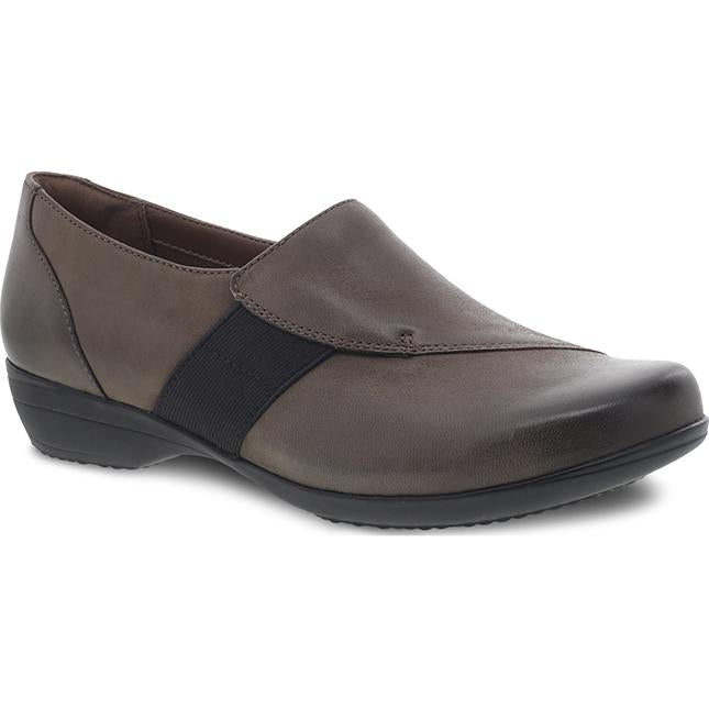 Women's Dansko Fae in Mushroom Burnished Nubuck sku: 5507-870200
