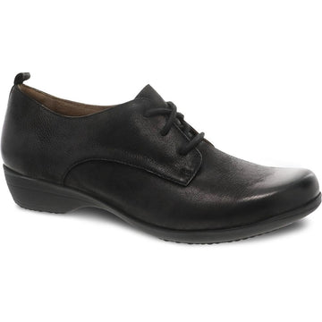 Women's Dansko Finola in Black Burnished Nubuck sku: 5509-360200