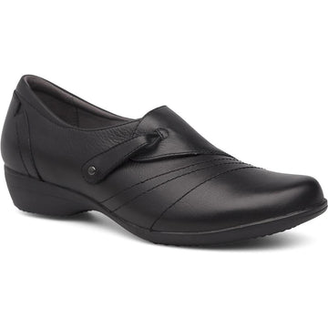 Women's Dansko Franny Wide in Black Milled Nappa sku: 5510-020200
