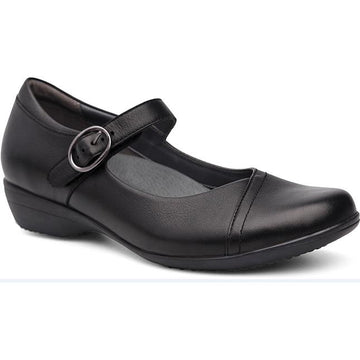 Women's Dansko Fawna Wide in Black Milled Nappa sku: 5511-020200