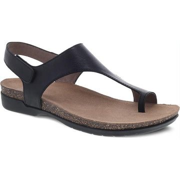 Women's Dansko Reece in Black Waxy Burnished sku: 6024-470200