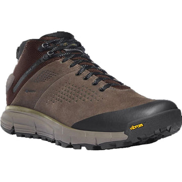 Men's Danner Trail 2650 Mid in Brown/ Military Green sku: 61243