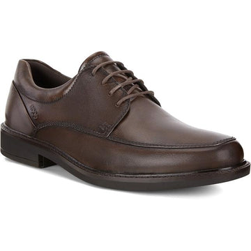 Men's Ecco Holton Apron Toe Tie in Cocoa Brown sku: 621114-01482