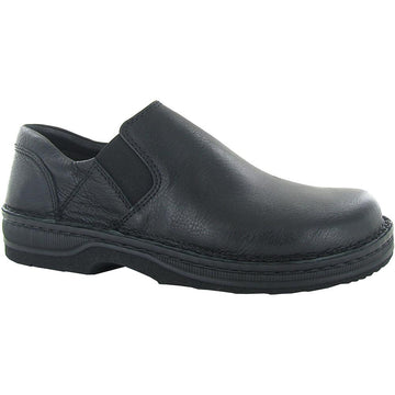 Men's Naot Eiger in Soft Black Leather sku: 68111-BA6