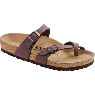 Women's Birkenstock Mayari Birkibuc Regular in Mocha