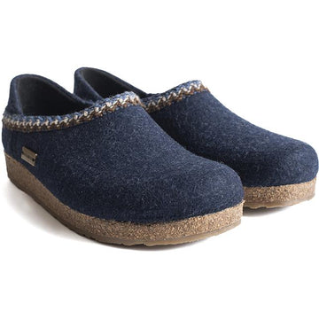 Women's Haflinger Gzh Zig Zag in Captains Blue sku: 714007-79