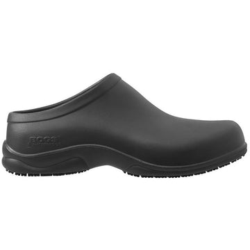 Men's Bogs Stewart Service Clog in Black