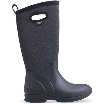 Bogs Crandall Tall Waterproof Black Multi