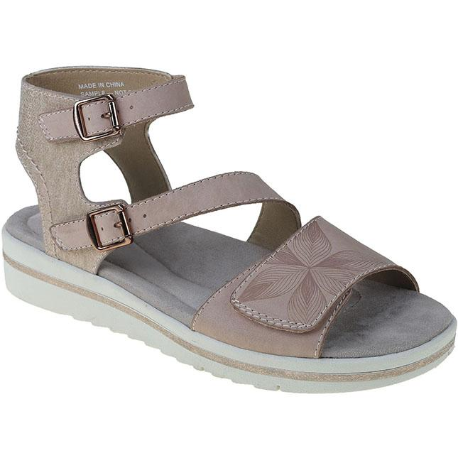 Womens Earth Orgins Carley Caroline In Blush/ Apricot Ice