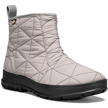 Women's Bogs Snowday Low in Gray sku: 72239-020
