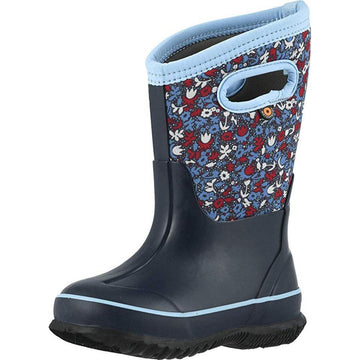 Kids Bogs Classic Freck in Blue Multi sku: 72449-460
