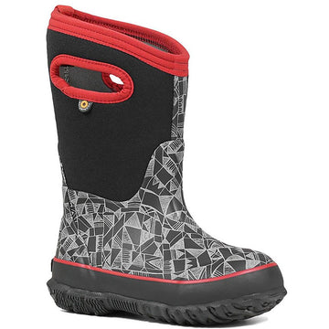 Kids Bogs Classic Maze in Black Multi sku: 72451-009