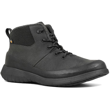 Men's Bogs Freedom Mid Lace in Gray