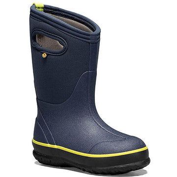 Kids Bogs Classic Texture  in Navy/ Green sku: 72593-410