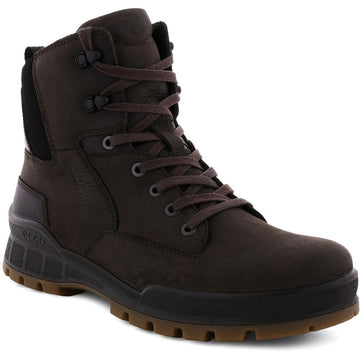 Men's ECCO Track 25 Hydromax Plain Toe Gore-Tex in Coffee/ Coffee sku: 831834-54639