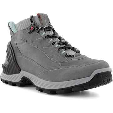 Women's ECCO Exohike High Gore-Tex in Titanium/ Concrete sku: 840713-54302