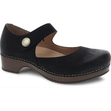 Women's Dansko Beatrice in Black Burnished Nubuck sku: 9423-477800