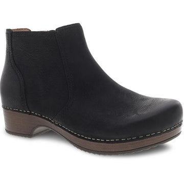Women's Dansko Barbara in Black Burnished Nubuck sku: 9425-107800