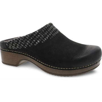 Women's Dansko Bev in Black Burnished Nubuck sku: 9432-107800