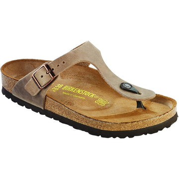 Women's Birkenstock Gizeh Regular in Tobacco