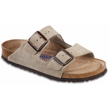 Birkenstock Narrow Arizona Soft Footbed Taupe