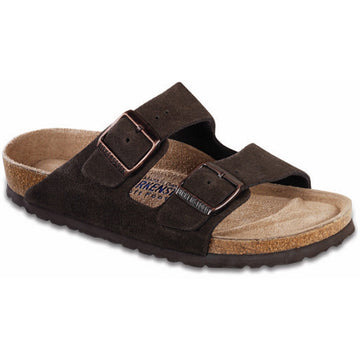 Birkenstock Narrow Arizona Soft Footbed Mocha